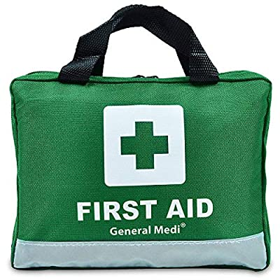 210 Piece First Aid Kit- Emergency kit - Reflective Design - Includes Eyewash, Ice(Cold) Pack,Moleskin Pad,CPR Face Mask and Emergency Blanket for Travel, Home, Office, Car, Workplace & Outdoor from HANGZHOU AOSI HEALTHCARE CO.,LTD