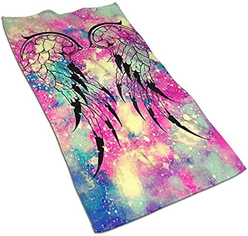 Toallas de Mano Toalla Ultra Suave Hipster Wings Galaxy Toalla de Cocina Absorbente Toallas de baño para Invitados Toalla Multiusos