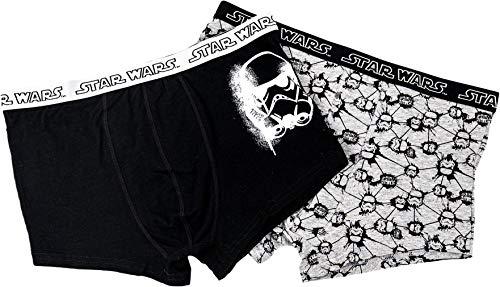 TragMich Star Wars - Boxershorts für die Großen - 2 Boxer - Stormtrooper, Größe:XL