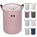 Product Image of the DOKEHOM 22-Inches Freestanding Laundry Basket with Lid, Collapsible Extra Large...