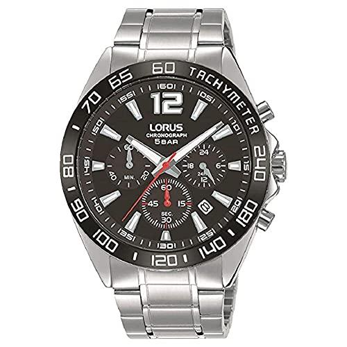 Seiko UK Limited - EU Reloj Analógico para Hombres de Cuarzo con Correa en Acero Inoxidable RT335JX9