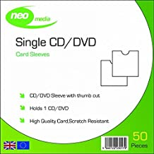 Neo Media Card Sleeves with Thumb Cut (Pack of 50)