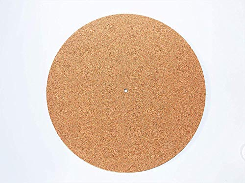 (1) Turntable Toys TC-6 Cork Audiophile Turntable Mat (1/16) Inch Thick for Rega & Other Turntables Needing a Thin Mat