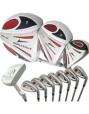 WORLD EAGLE(ワールドイーグル) 5Z メンズ ゴルフ クラブ フルセット ホワイト 右用 フレックスRWE-5Z-WH-R-W/O