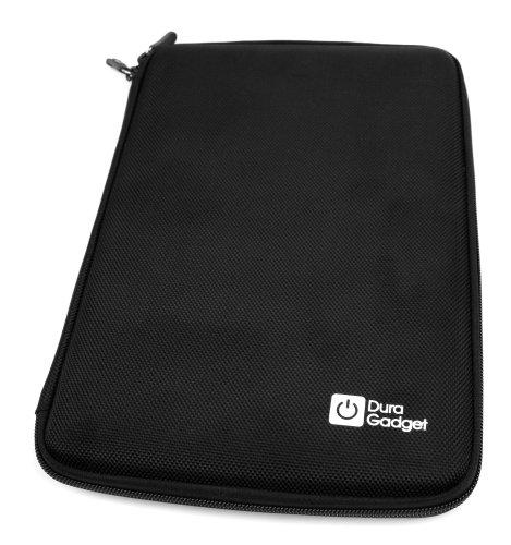 DURAGADGET Schutzhülle Hardcase Transporttasche aus robustem EVA schwarz für Touchscreen-Tablet Samsung Galaxy Tab (SM-Active T360 8