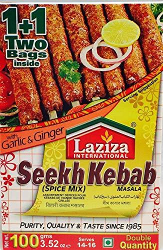 Laziza Seekh Kebab Mezcla de especias Masala 100 g