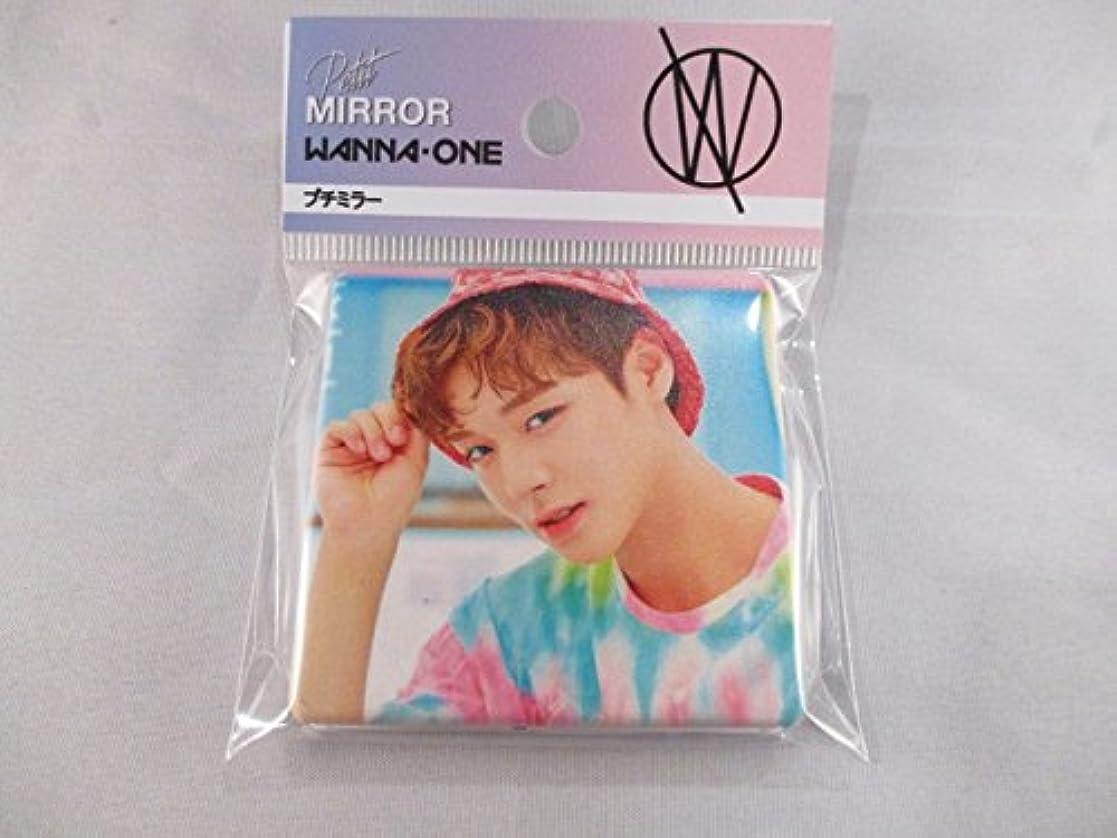 夜明けにミルク定義する韓国 K-POP ☆WANNA ONE ワナワン パク?ジフン☆ ハンドミラー 鏡 ミラー コンパクト ③