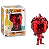 Jokoy Funko Pop Dragonball Super #Z #154 Super Saiyan Vegeta Metalic Limited Edition (Red) Multicolor