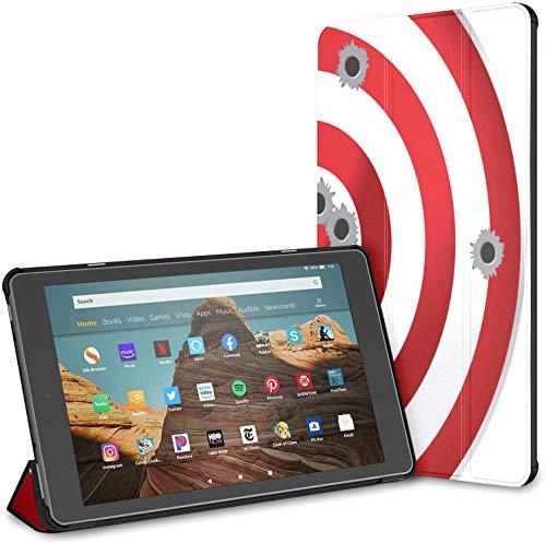 Estuche para el Campo de Tiro Target Shot Rifle Fire HD 10 Tablet (9.a / 7.a generación, versión 2019/2017) Estuche Protector para Kindle Fire HD 10 Carcasa Auto Wake/Sleep para Tableta de 10.1 pul
