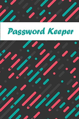 Password Keeper: Parallel Color Cover, Premium Journal Keep track of Usernames, Passwords, Web addresses 6