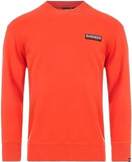 Base Logo Sweatshirt Large Orange