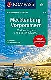 KOMPASS Wasserwanderatlas Mecklenburg-Vorpommern: Mecklenburgische und Bodden-Gewässer (KOMPASS Große Wanderbücher, Band 608)