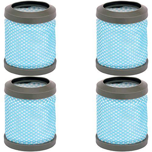 SPARES2GO Lot de 4 filtres d'échappement post-moteur lavables type T113 pour aspirateur Hoover Freedom FD22