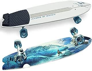 Surfskate Jamie O'Brien Complete Pro Model Tahiti Skateboard -9.6x34