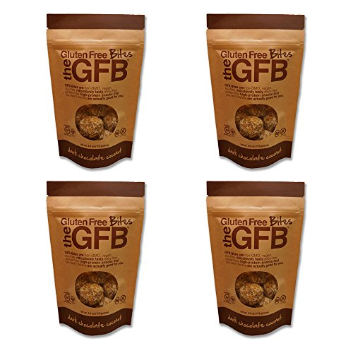 Dark Chocolate Coconut Glutenfree Protein Bites 4 Pack (4 Oz Ea)