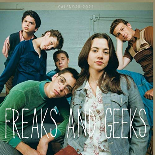 Freaks and Geeks: Calendar 2021 in mini size 7''x7'' with high quality images of your favorite series!