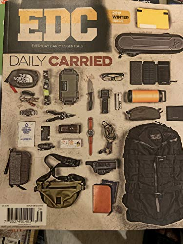 edc magazine 2019 winter daily carried