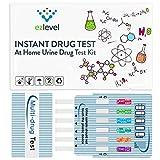 (3 Pack) EZ LEVEL 5 Panel Urine Drug Test Kit Marijuana (THC) Cocaine (COC)...