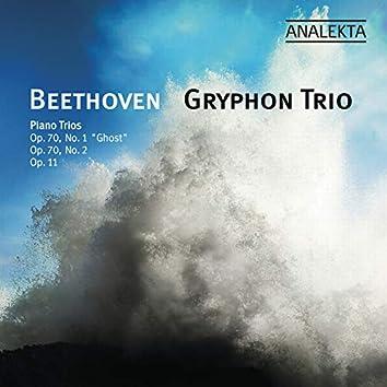 """Beethoven: Piano Trios Op. 70 No. 1 """"Ghost"""" & No. 2; Op. 11"""