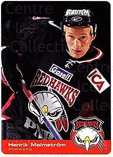 (CI) Henrik Malmstrom Hockey Card 2002-03 Swedish Malmo Redhawks Team Issue 5 Henrik Malmstrom