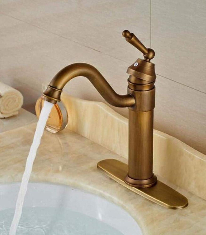 Brass Wall Faucet Chrome Brass Faucettap Antique Brass Hot Cold Bathroom Sink Faucet