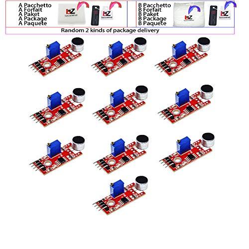 10 unids/lote KY-037 4 pines módulo de Sensor de Detección de...