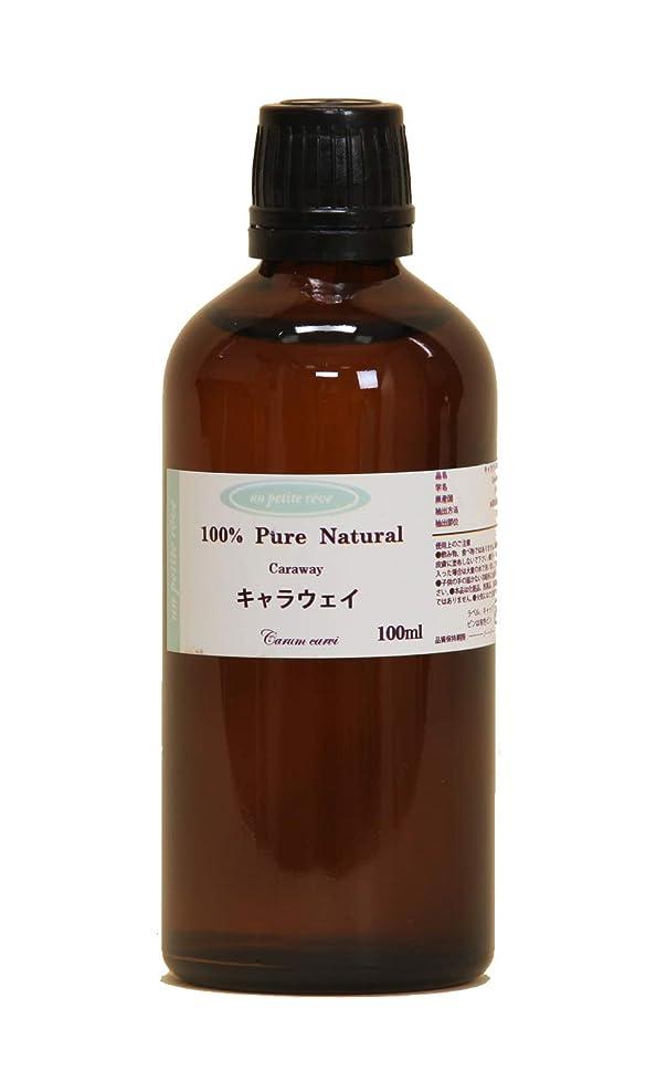 生き返らせる樹木パンチキャラウェイ  100ml 100%天然アロマエッセンシャルオイル(精油)