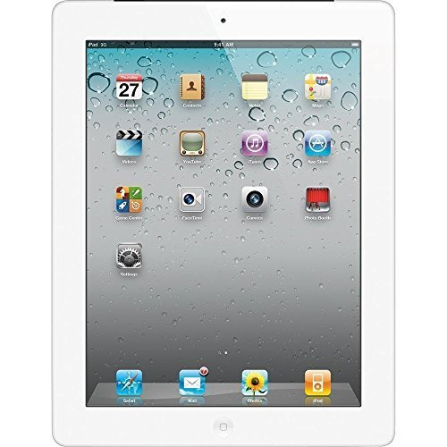 Apple iPad 3 Retina Display Tablet 64GB, Wi-Fi w/ 1 YEAR EXTENDED CPS LIMITED WARRANTY (White)(Refurbished)