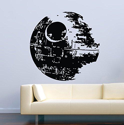USA Decals4You | Movie Film Wall Decals Star Wars Death Star Stickers Vinyl Murals MK1586