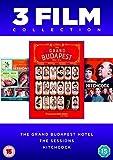 Grand Budapest Hotel/The Sessions/Hitchcock (3 Dvd) [Edizione: Regno Unito] [Italia]