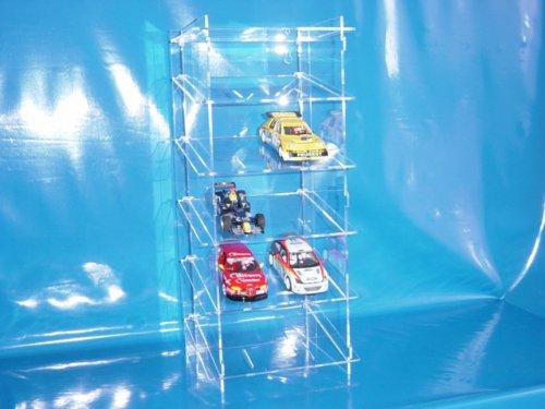 Sammelturm aus Acrylglas für 1:32 Slot Cars SL016 Rückwand Spiegel
