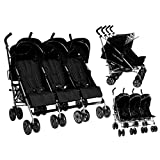 Triple 3passeggini passeggini con passeggino passeggino bambino appena nato...