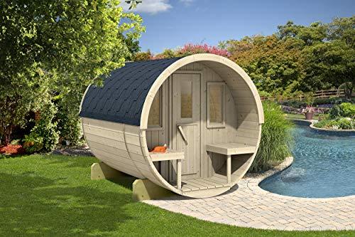Allwood Barrel Sauna #250-WHP Wood Heater