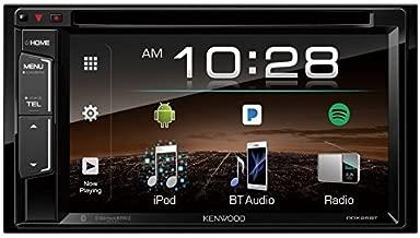 Kenwood DDX25BT 6.2in 2-Din In-Dash DVD Monitor Bluetooth Receiver Sirius/MP3/WMA (Renewed)