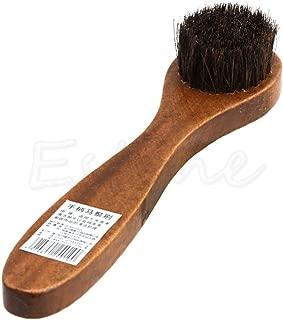 KPST - Long Wood Handle Bristle Horse Hair Brush Shoe Boot Polish Shine Cleaning Dauber S27 Dropship - By KPST - 1Pcs