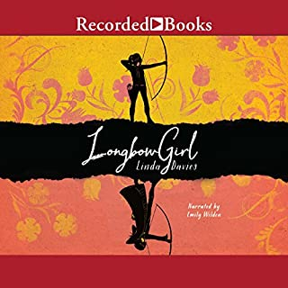 Longbow Girl audiobook cover art