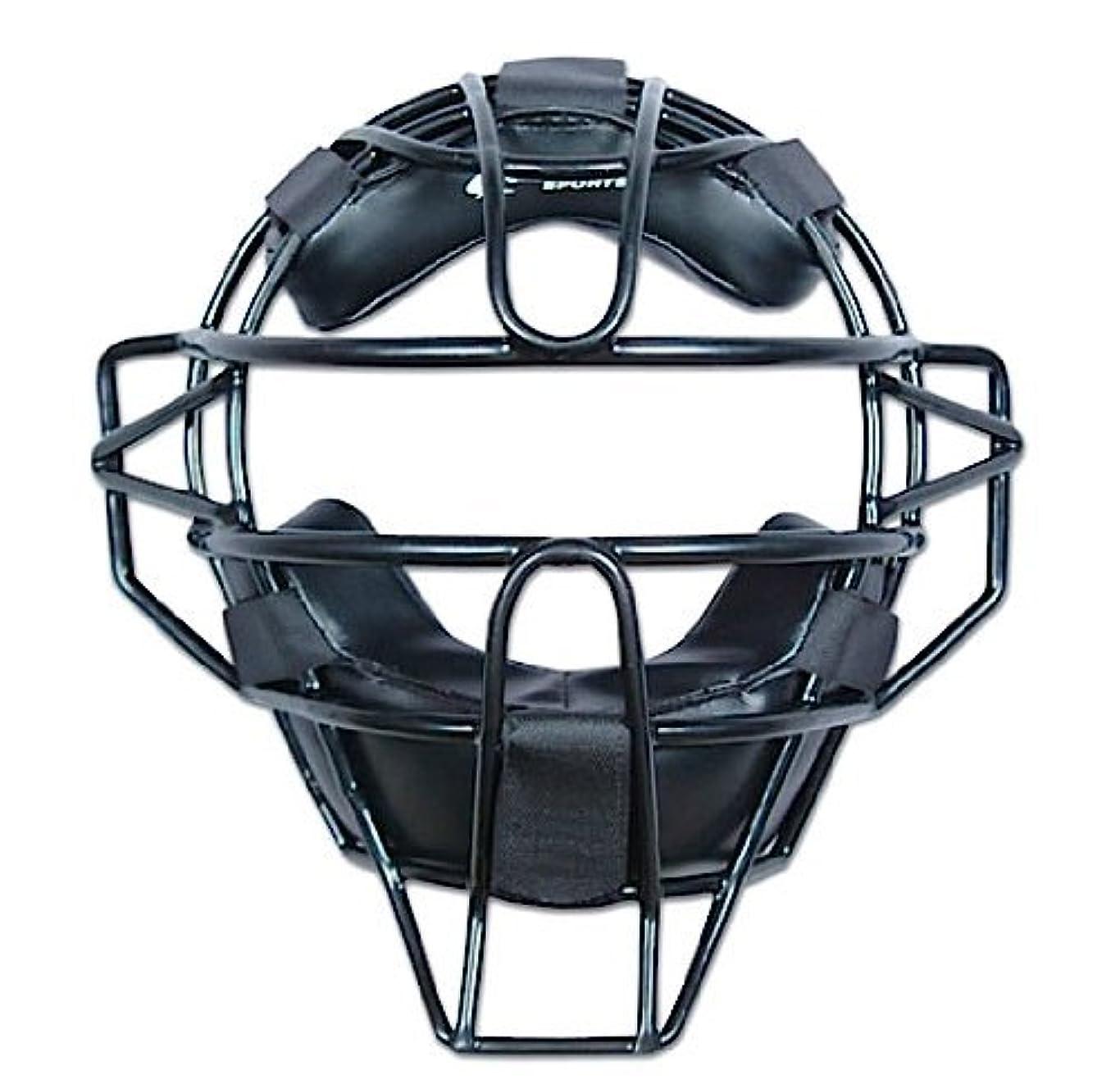 蜜かけがえのない破滅的なChampro チャンプロ UMP 硬式審判用軽量 マスク black