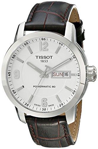 Tissot T055.430.16.017.00 - Orologio da polso Uomo, Pelle, colore: Marrone