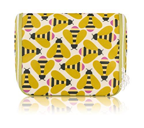 Orla Kiely Busy Bee Hanging Wash Bag, OKWBG3968