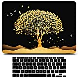MacBook Air 13 Inch Case 2020 2021 2019 2018 Release M1 A2337 A2179 A1932, Vivid Print Laptop Cover Hard Shell MacBook Air Case & Keyboard Cover & Screen Protector Compatible for MacBook Air 13 inch