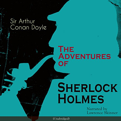 The Adventures of Sherlock Holmes audiobook cover art