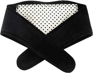 Artibetter Cuello magnético collarín de soporte cervical terapia magnética soporte cinturón flexible autocalentable para c...