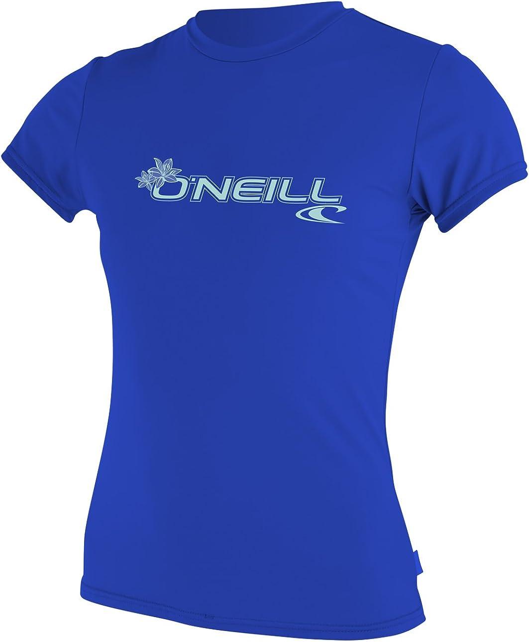 O'Neill Women's Basic Skins Upf Memphis Mall Shirt 50+ OFFicial site Sleeve Sun Short