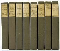 WORKS OF FREIDRICH VON SCHILLER (8 VOLUMES)