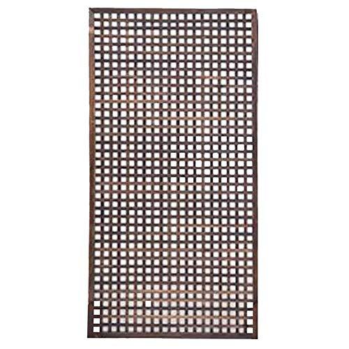 Picket Fence Zaun-Netz Wetter Imprägnieranlage Climbing Getrennt Raum Hochtemperatur-Verkokung Außen Innenraum, 9 Größen (Farbe: Braun, Größe: 30x120cm) yqaae (Color : Brown, Size : 30x120cm)
