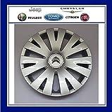 ORIGINAL Citroen Radkappe Radblende SILBER 15 Zoll FEROE 98136143VV BERLINGO B9