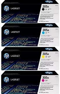 HP 305A, Four Pack of CE410A Black, CE411A Cyan,CE412A Yellow,CE413A Magenta Value Set