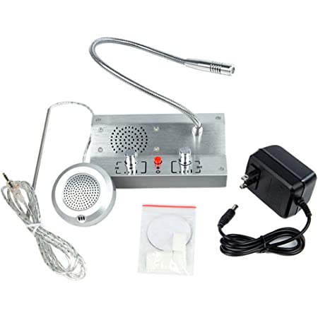 Anti-Interference Window Counter Intercom System Speaker for Bank Ticket Station