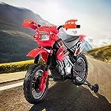 Zoom IMG-1 homcom moto cross elettrica con