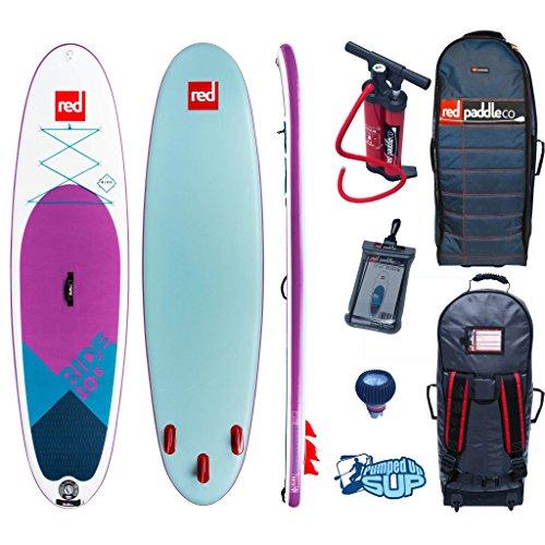 Red Paddle Co Ride MSL 10'6 x 32 SE (2019 Series) Includes Bundle. Titan Pump - Backpack - ERS Pressure Gauge + Pumped Up SUP Sticker